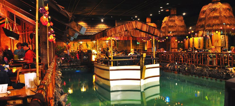 Tonga Room. Somewhere, I have a ceramic tiki glass, in case I want ...
