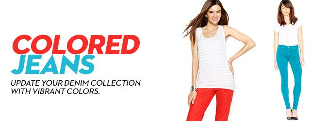 Colored Jeans: Look for Colored Jeans at Macy's - Macy's