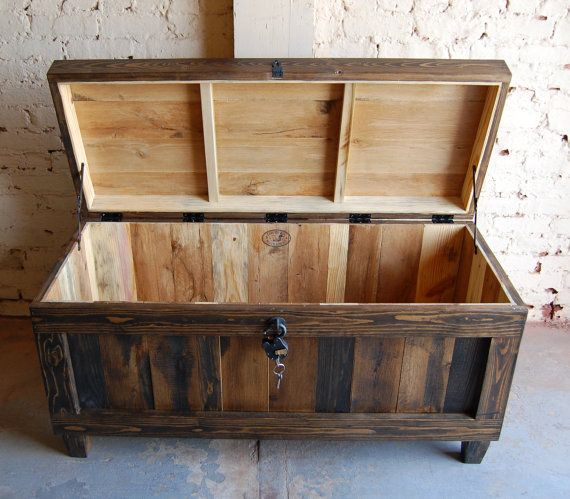 Hope Chest Trunk Bench Entryway Wedding By Looneybintradingco
