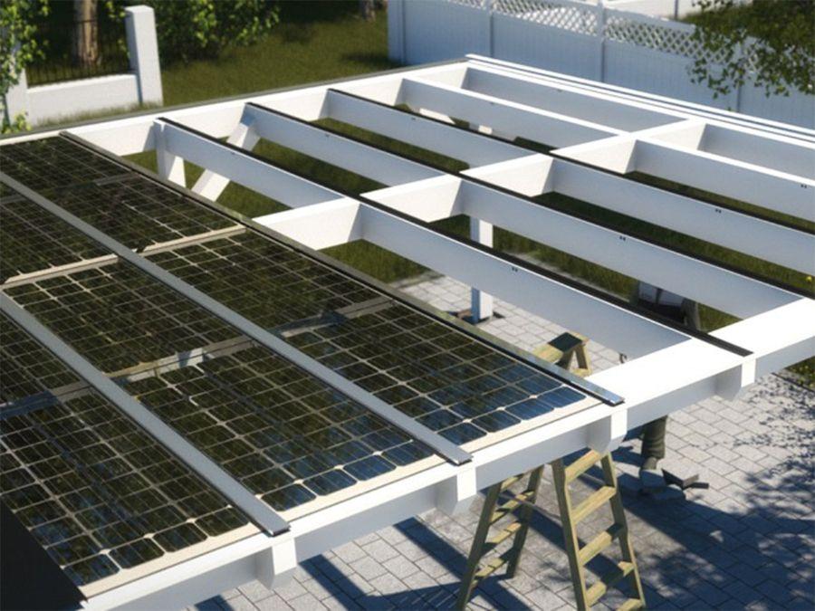 Solar Heisse Uberdachung Holzbauweise Uberdachungen