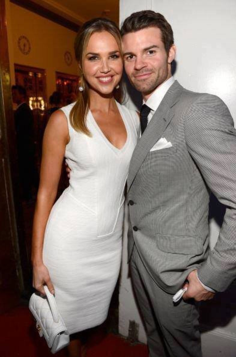 Arielle Kebbel & Daniel Gillies @ The CW Upfronts May 2013