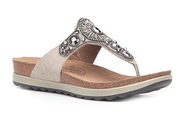 1a15141d464067 The Dansko Pamela T-strap sandal is adorned with pretty jewels ...
