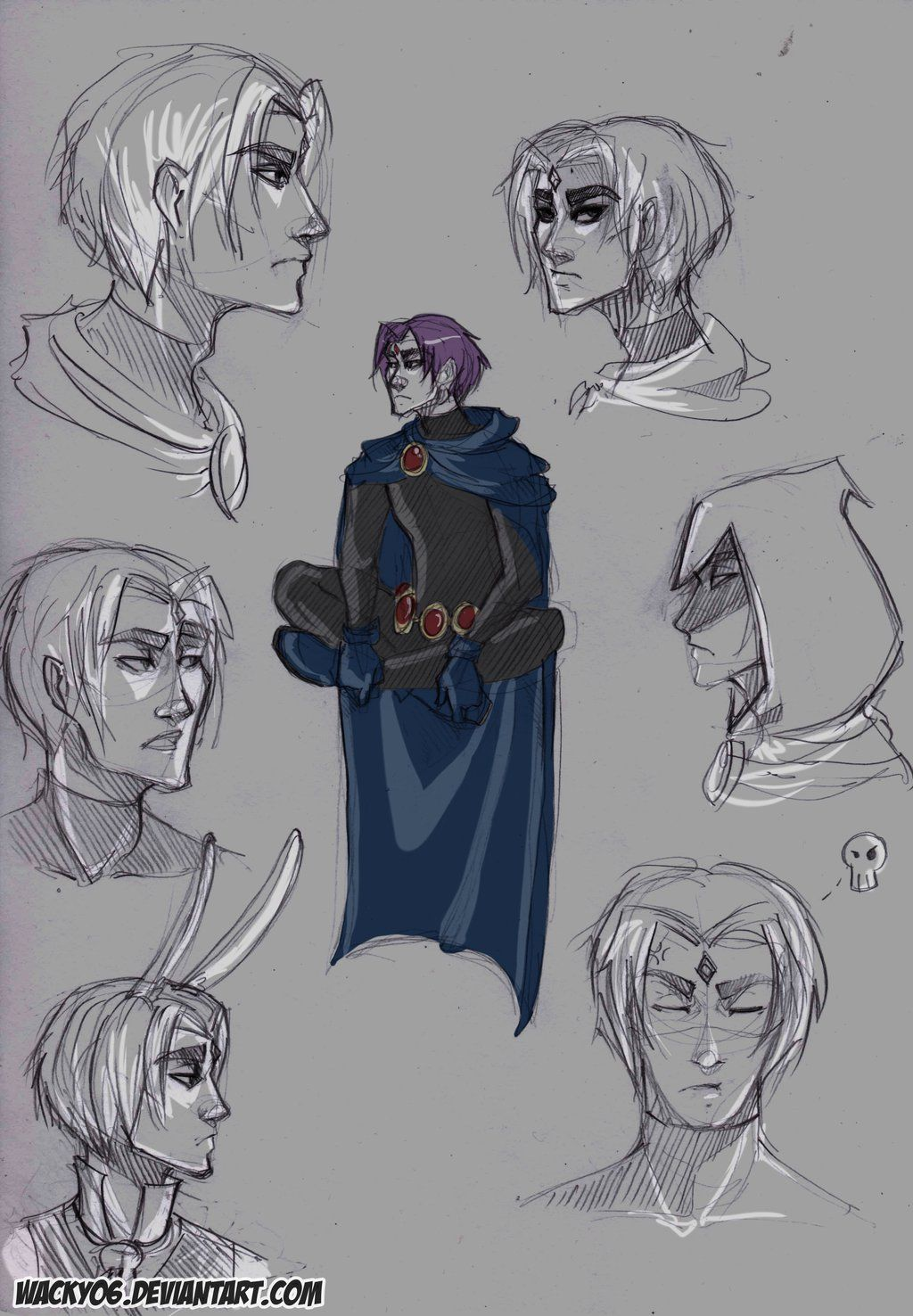 Pin By Kbmzane On Smexy Teen Titans Raven-8894