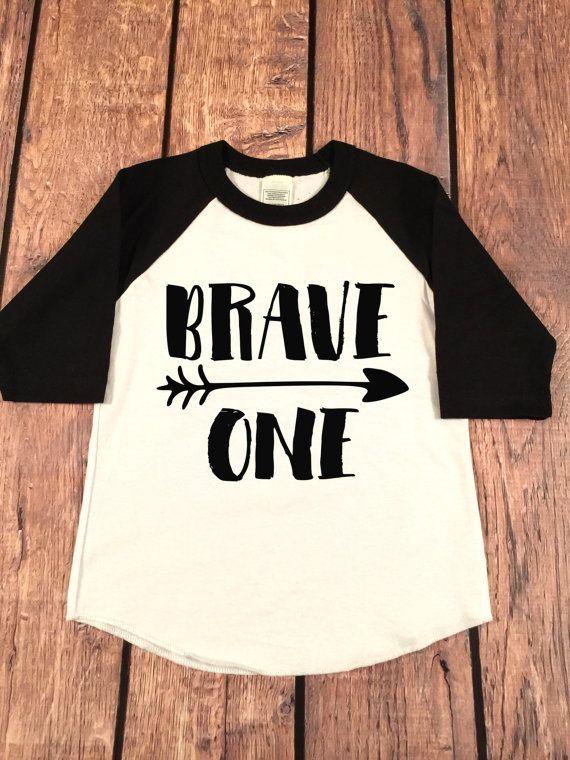 f8ccff4ac85ec Brave One Birthday Boy Raglan Shirt, Baby Raglan Tee,Toddler Raglan  Tee,Childrens Raglan tee, Birthday outfit