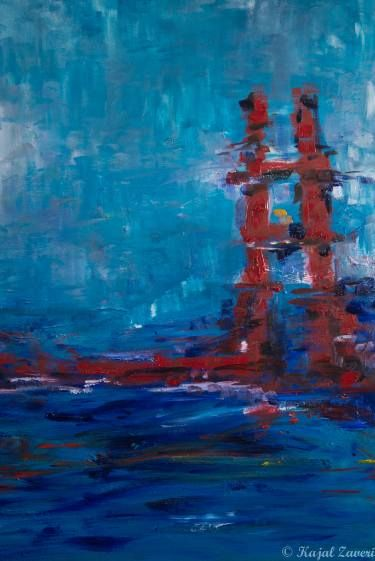 "Saatchi Art Artist Kajal Zaveri; Painting, ""In San Francisco"" #art"