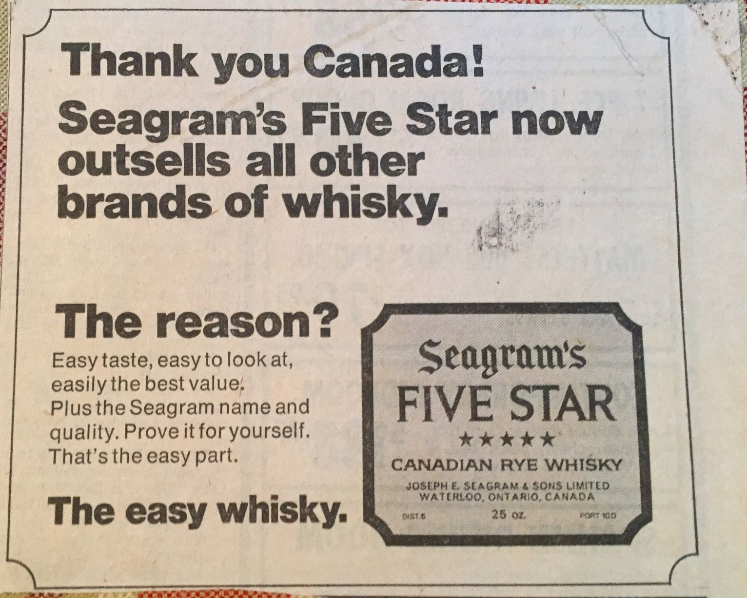 Vintage Seagram S Five Star Ad Vintage Advertisements Old Ads Stars Then And Now Fivestar video marketing | mcalister communications is one of the strongest public relations voices in the southeast. pinterest