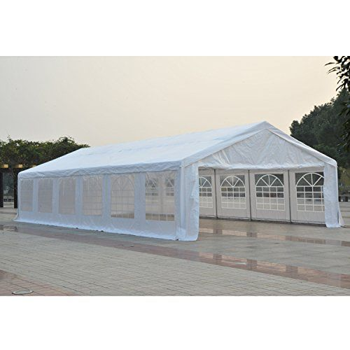 Outsunny 40' x 20' Party Tent Event Canopy with Sidewalls