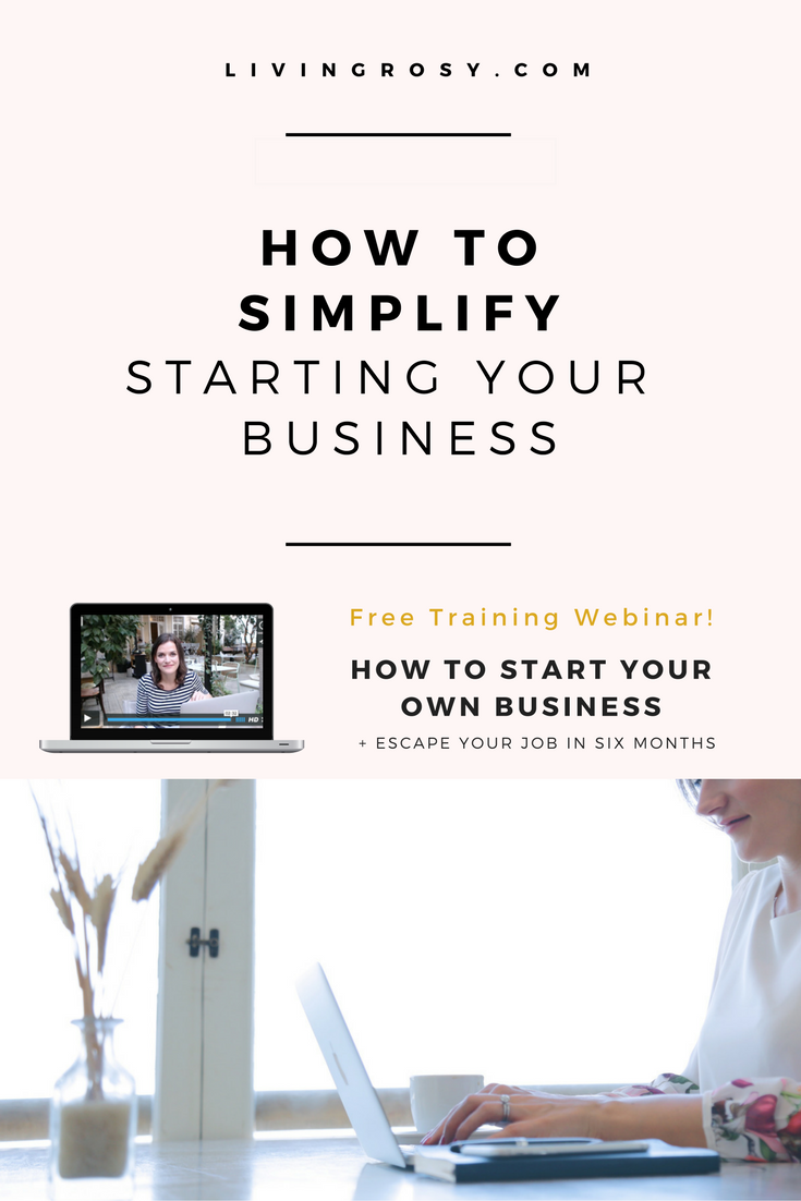 How to Simplify Starting a Business | Entrepreneur ideas, Online ...