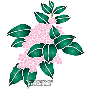 Pinkki hortensia oksa | sisustus sabluuna | ostaa verkosta