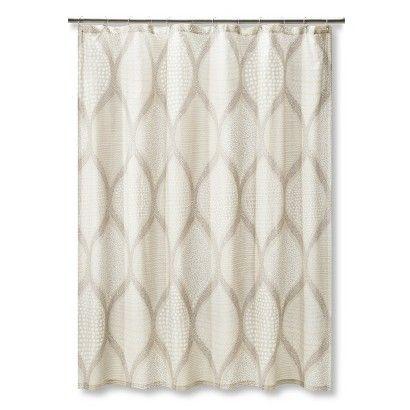 MudhutTM Ogee Tie Dye Shower Curtain