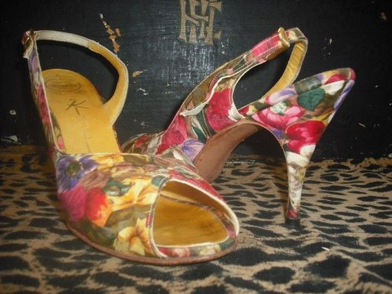 Stunning Hand Made Peep Toes/Slingbacks by KlassyKlassics on Etsy, $125.00