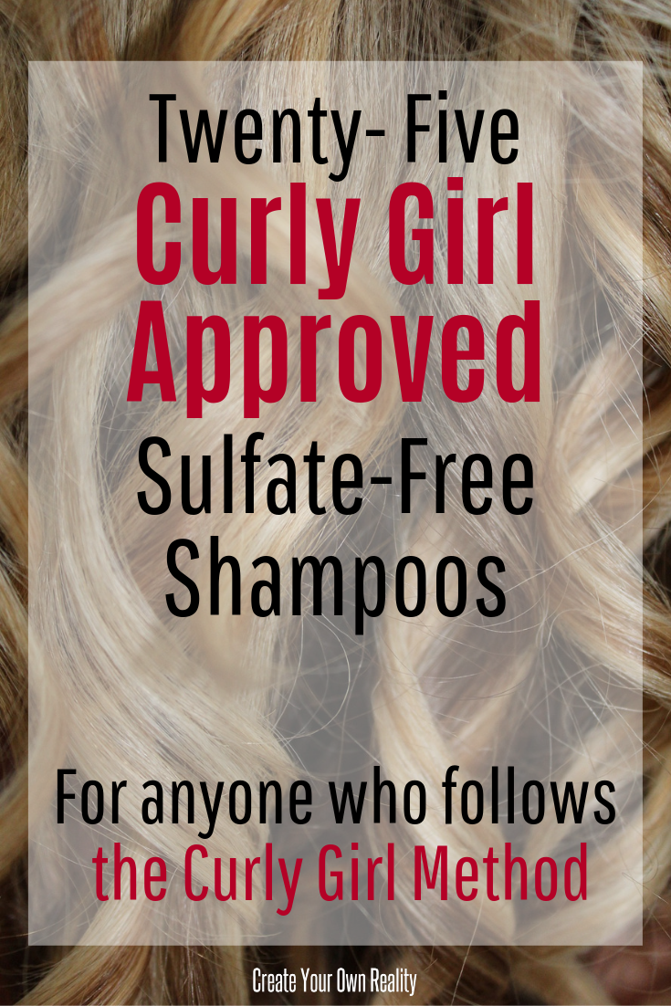 Curly Girl Approved Sulfate Free Shampoos This list has 25 curly girl approved sulfate free shampoos for your naturally curly hair. Many of these curly girl approved products you can find in your drugstore! Find your new holy grail here!This list has 25 curly girl approved sulfate free shampoos for your naturally c...