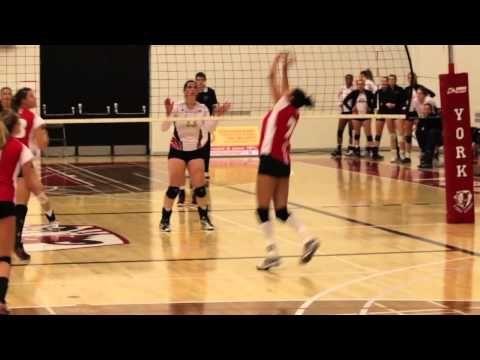 Aleksandra Steins Women S Volleyball York University Athletics Women Volleyball Women Female Athletes