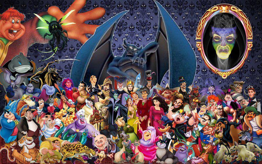 Disney Villains Wallpaper By Disneyfreak19 Deviantart Com On Deviantart Disney Villains Villain Disney Villians
