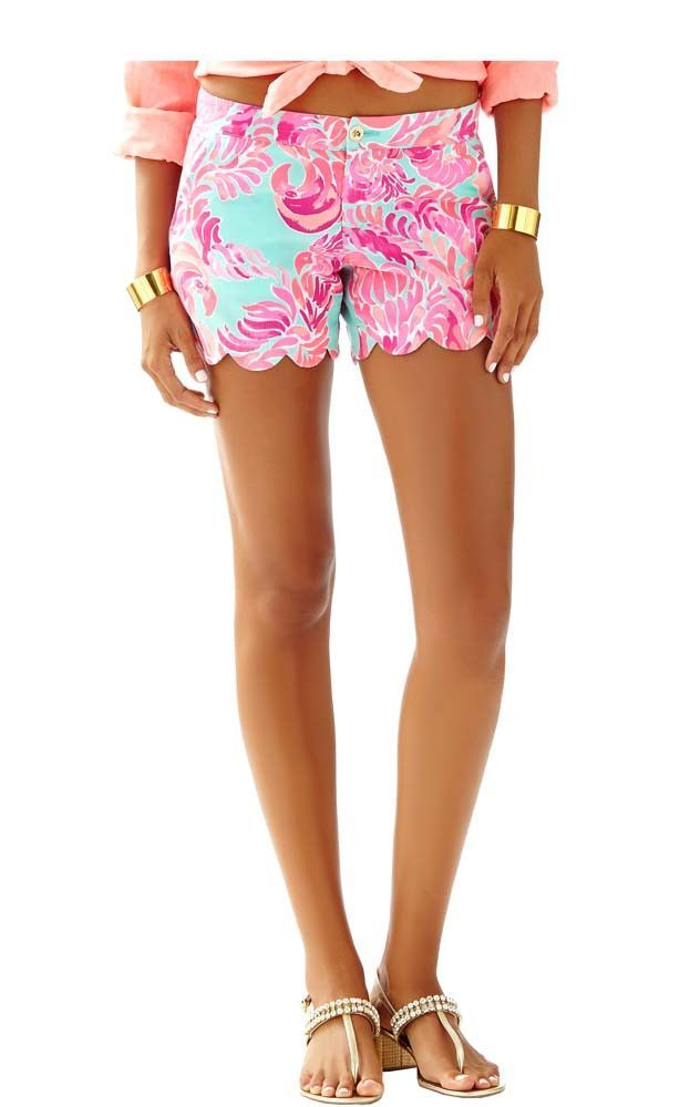 c2268aaf7621ca BUTTERCUP SHORT - POOLSIDE BLUE BY LILLY PULITZER | Products | Lilly ...
