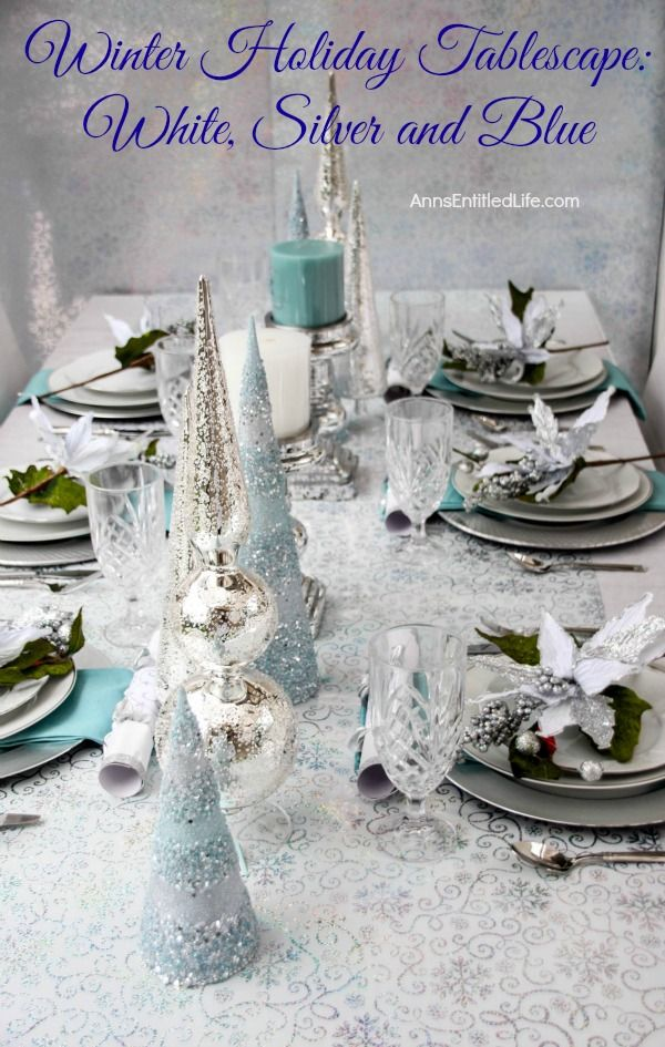 Ann S Entitled Life Holiday Tablescapes Turquoise Christmas Fun Christmas Decorations