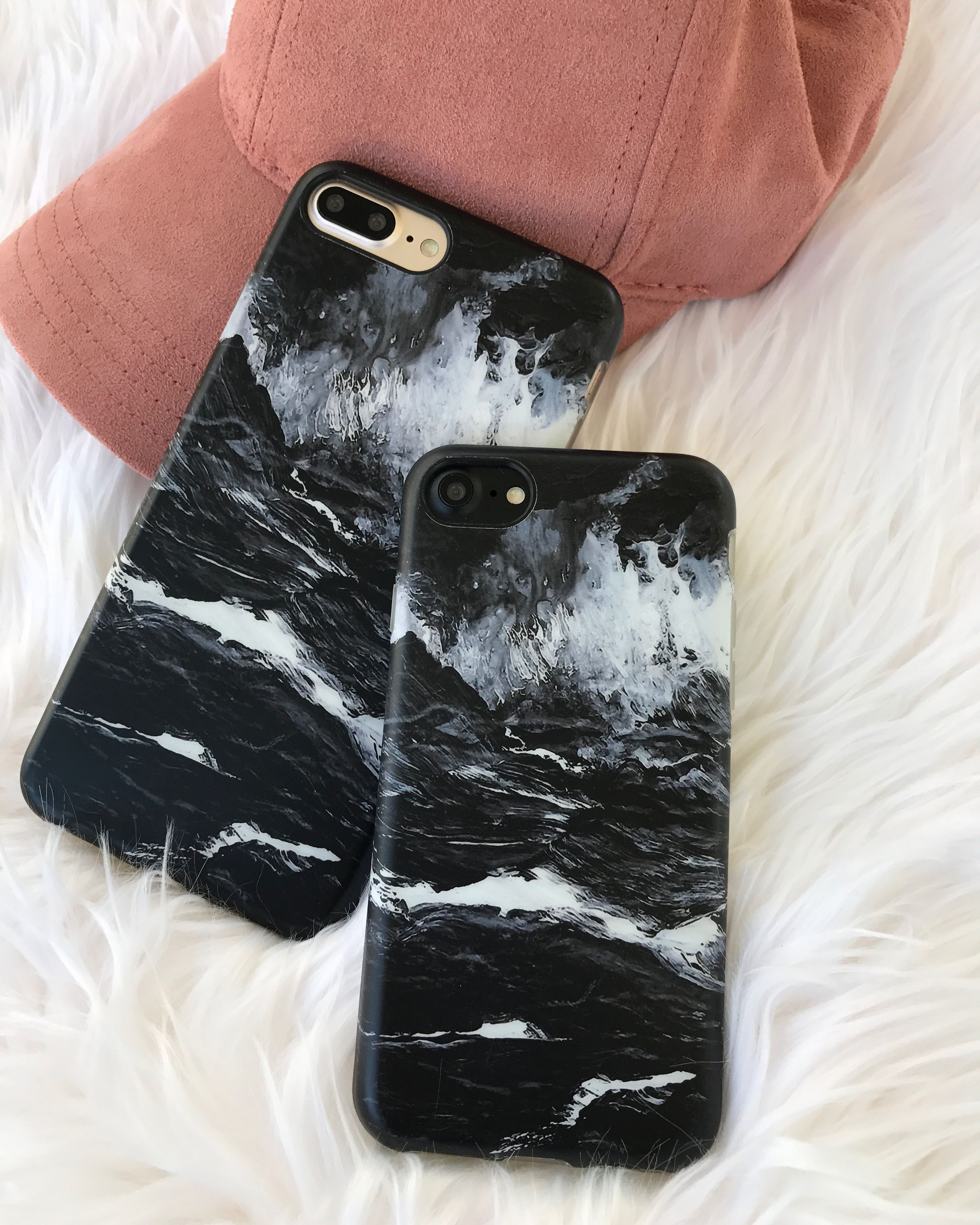 Black On Black Or Black On Gold Shop The Black Marble Case For Iphone 7 Iphone 7 Plus From Elemental Cases Diy Phone Case Cute Phone Cases Girl Phone Cases