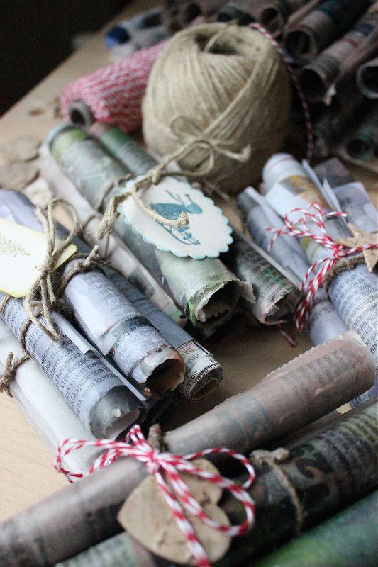 seksti delt på fem: tennbrikker - julegave-DIY