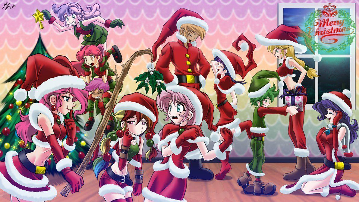 friendship Christmas by mauroz on DeviantArt
