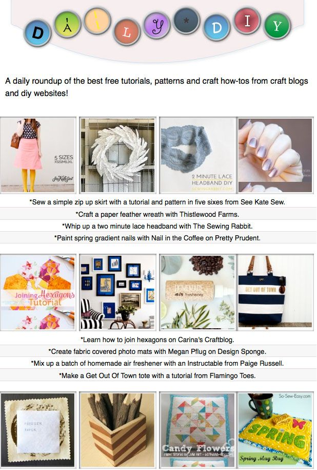 16 of the day's of the best free tutorials, patterns and ...