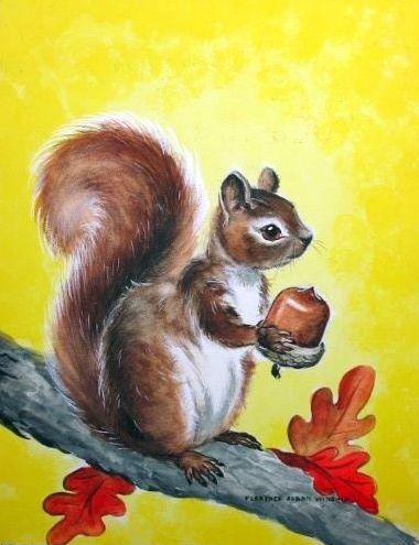 Squirrel Illustration