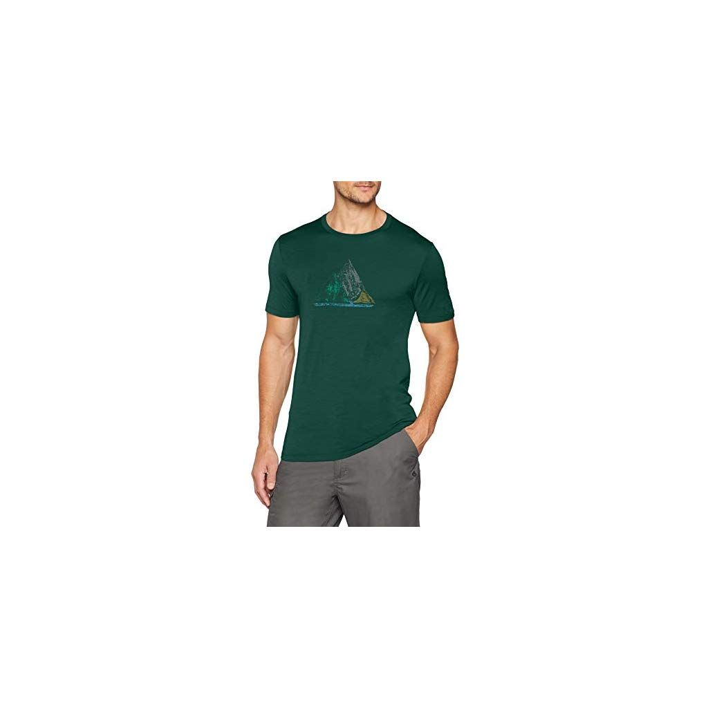 Merino Wool Icebreaker Merino Mens Tech Lite T-Shirt W//Graphic