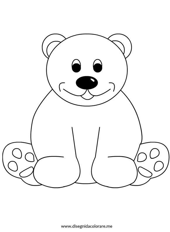 Disegni da colorare orsi timazighin - Orsi polari pagine da colorare ...