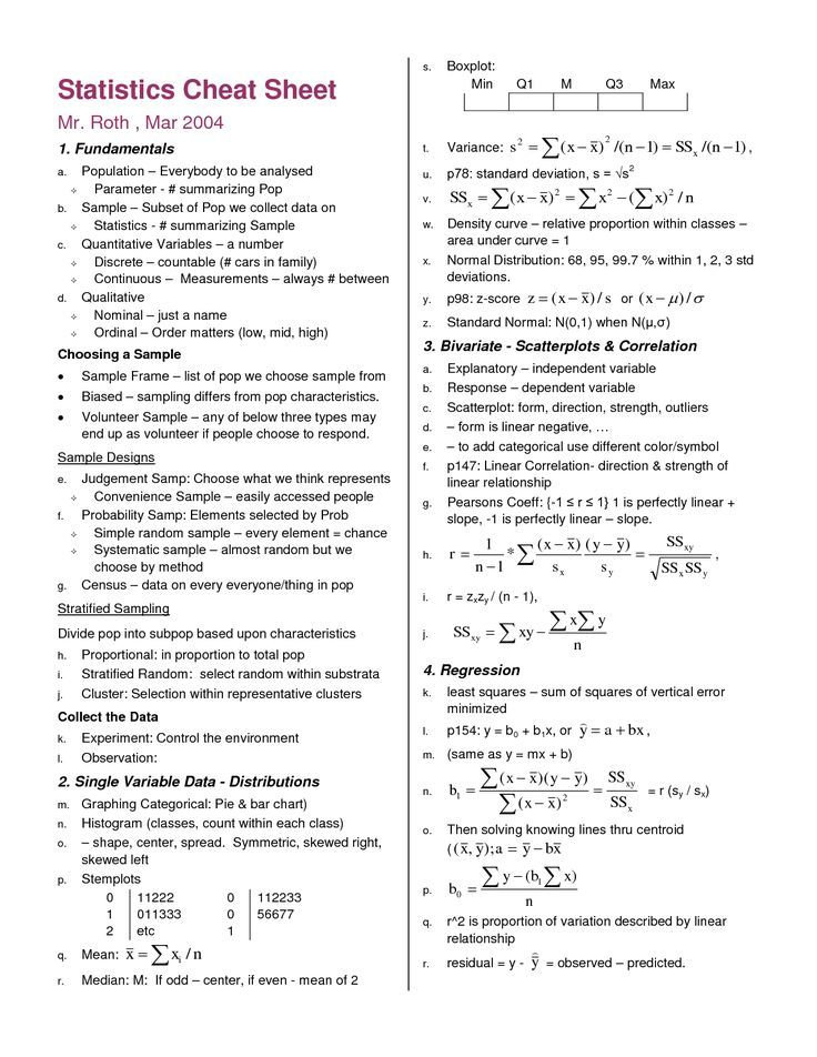 Image result for statistics symbols cheat sheet Research - resume cheat sheet