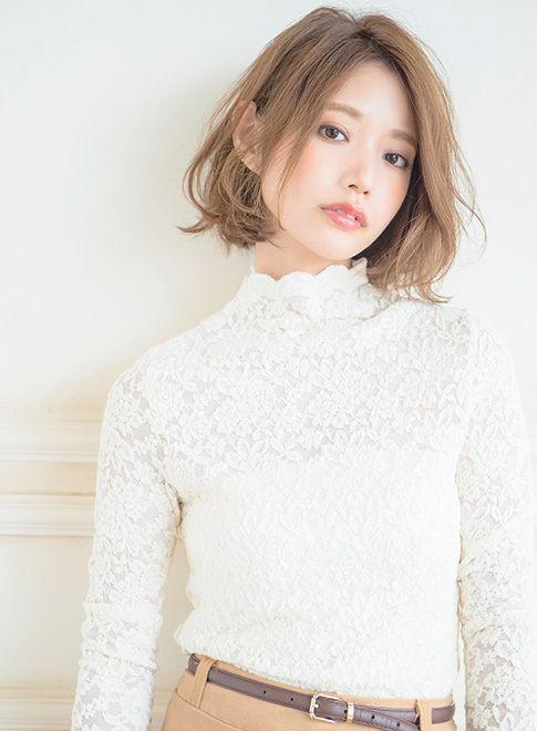 甘ニュアンスな大人ボブ 【Inity】 http://beautynavi.woman.excite.co.jp/salon/21632?pint ≪ #bobhair #bobstyle #bobhairstyle #hairstyle・ボブ・ヘアスタイル・髪型・髪形 ≫
