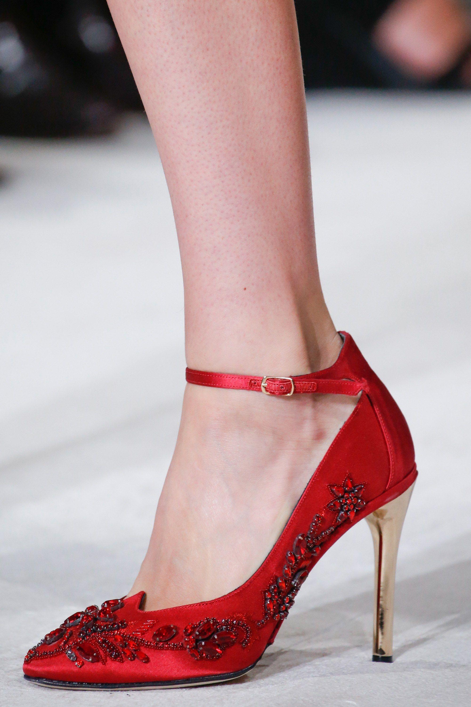 Oscar De La Renta Spring 2016 Ready To Wear Fashion Show Fabulous Shoes Shoes Beautiful Shoes