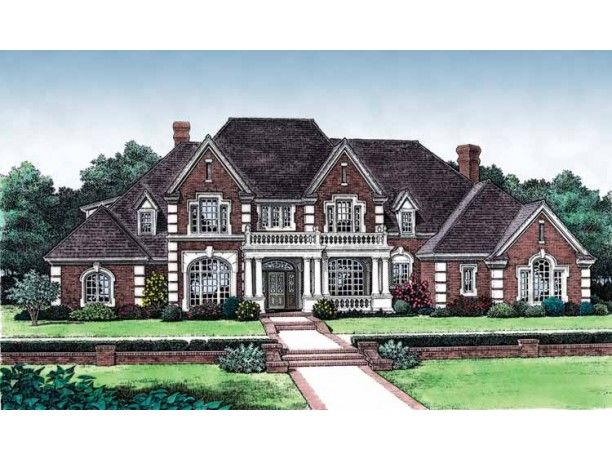Good New American House Plan With 4166 Square Feet And Nice Look