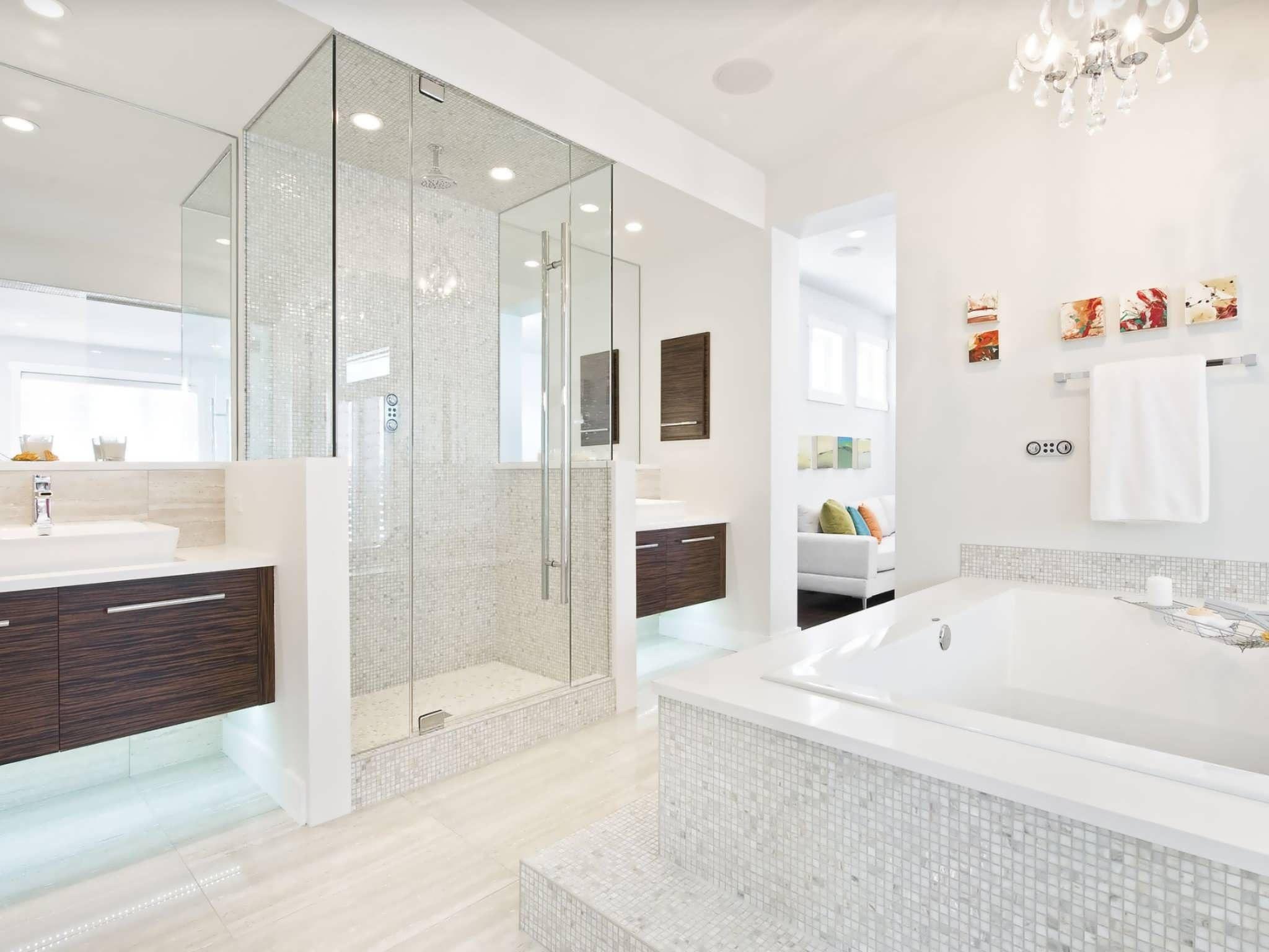Bagni Di Lusso Moderni mosaico bagno • 100 idee per rivestire con stile bagni