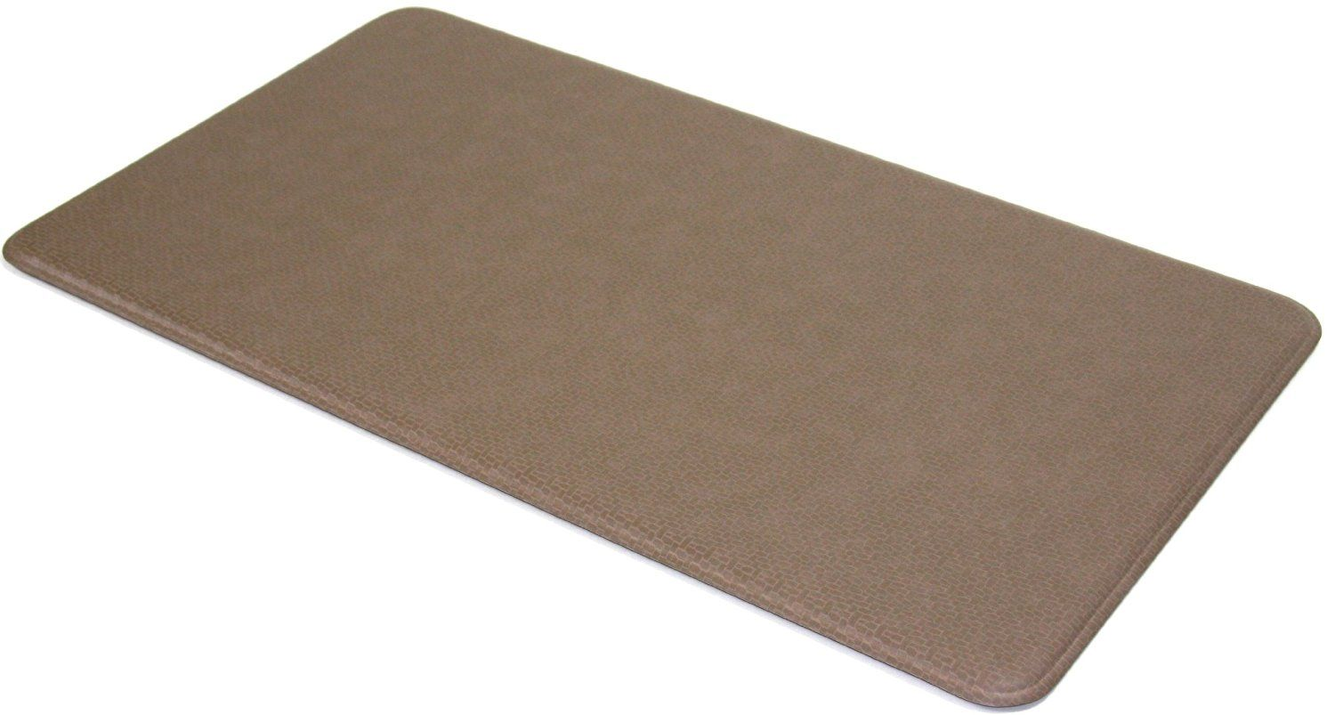 Amazon Com Imprint Comfort Mat 20 By 36 Inch Mocha Taupe Kitchen Counter Mats Kitchen Dining Comfort Mats Tabletop Accessories Imprinting