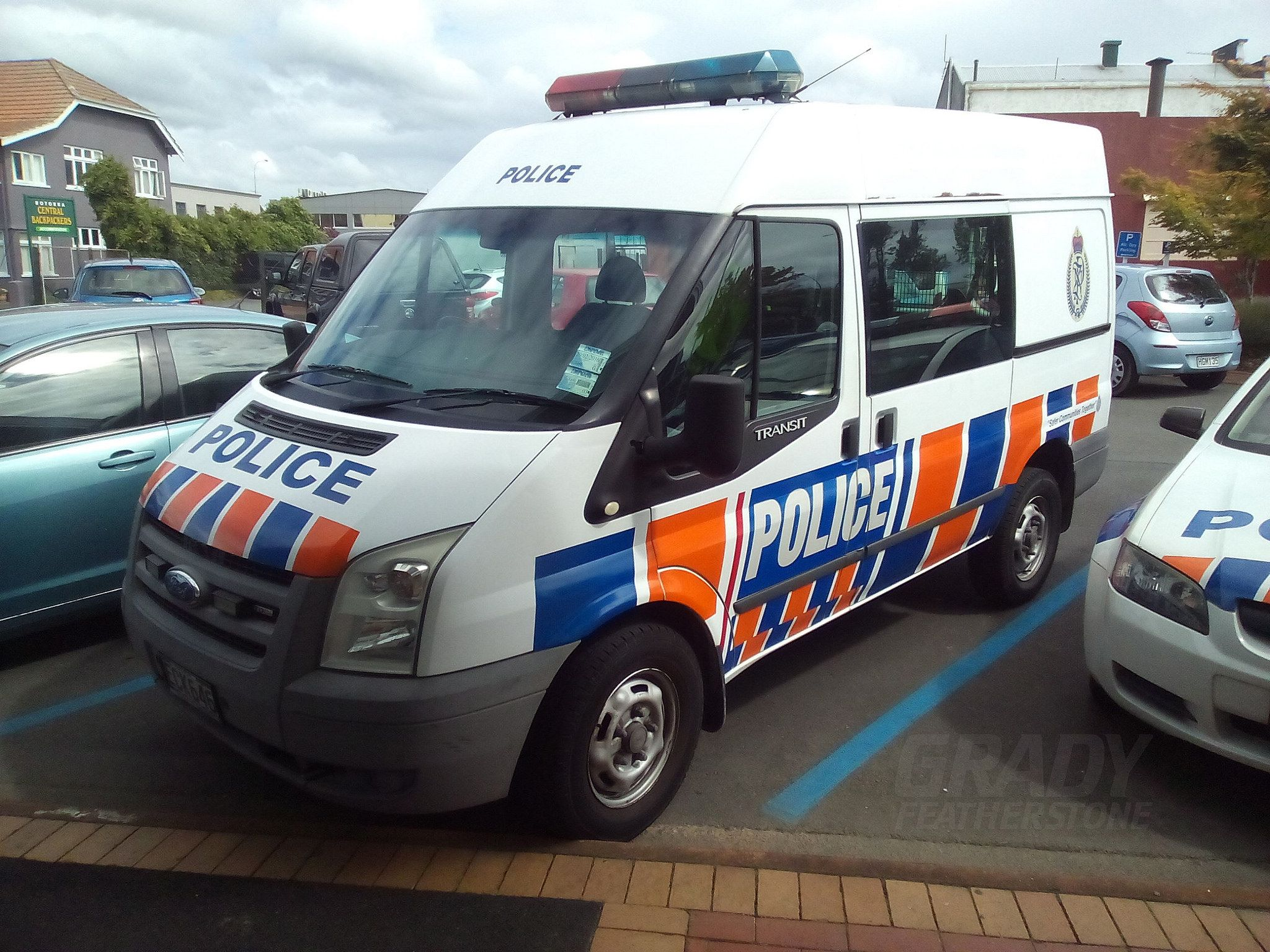 New Zealand Police General Duties Ford Wm Transit Police Police