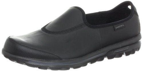 3379c18c4a6 Ladies Skechers Go Walk - Undercover; Leather Upper, Flexible, Lightweight  Slip On Casual