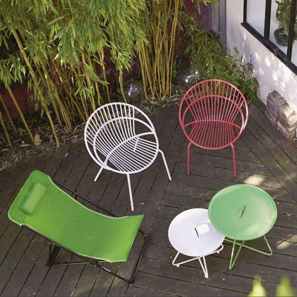 Le mobilier de jardin annonce la couleur | Jardin | Mobilier ...