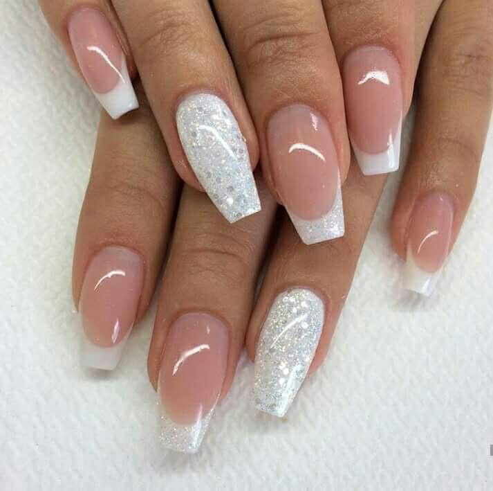 Beautifully Done White Tip Nails Nail Designs Gorgeous Nails