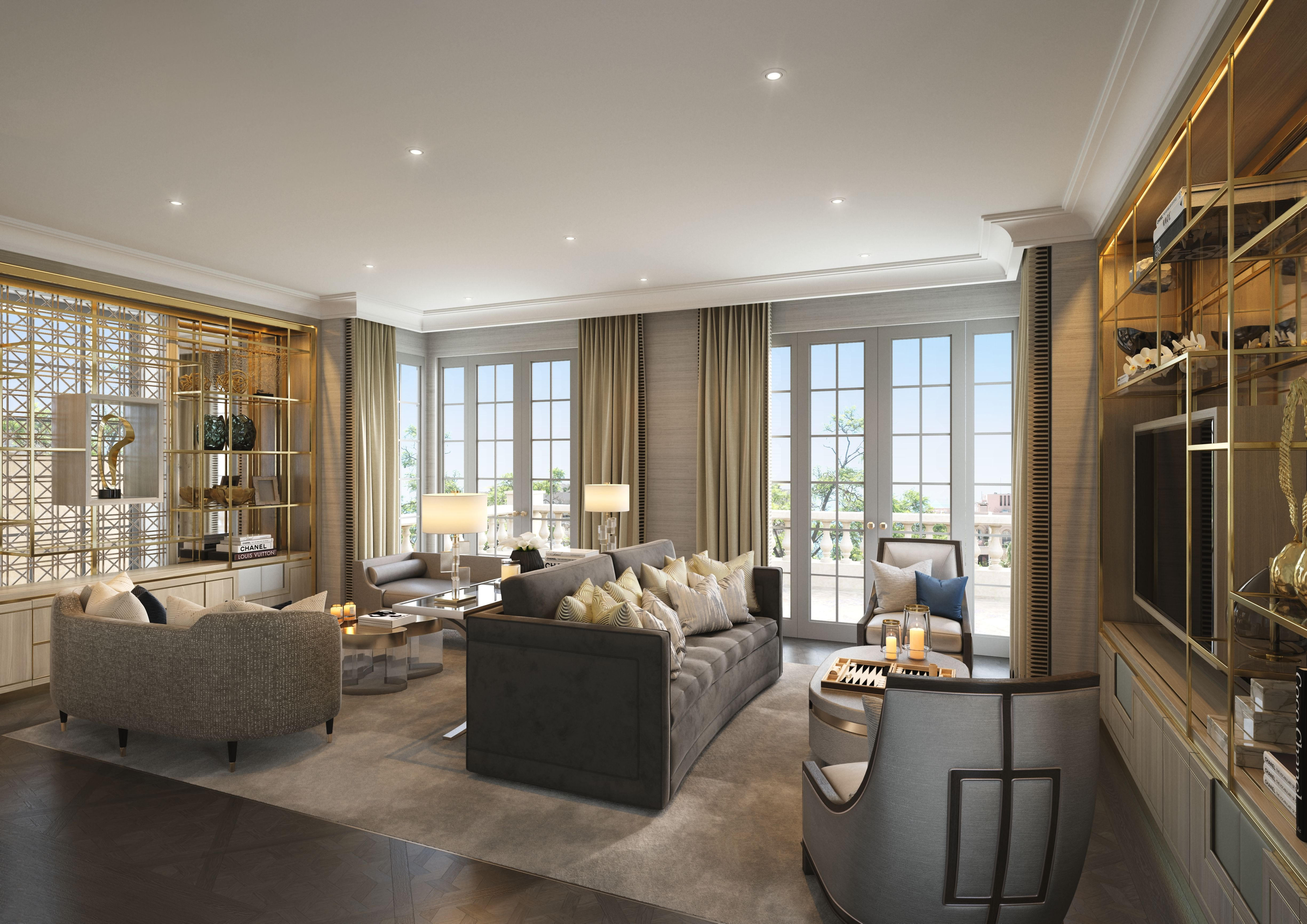 Informal Reception, Villa la Vague - Morpheus London | Residential ...
