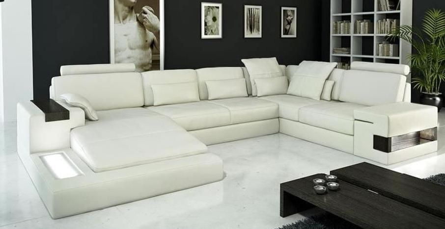 Modern leather sofa sectional sofas toronto ottawa - Cheap living room furniture toronto ...