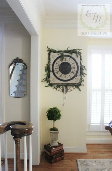DIY Clock Face and One Fantastic Giveaway!