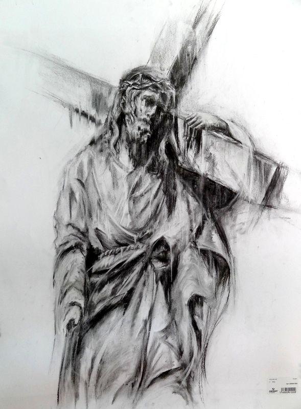 Jesus christ urban art