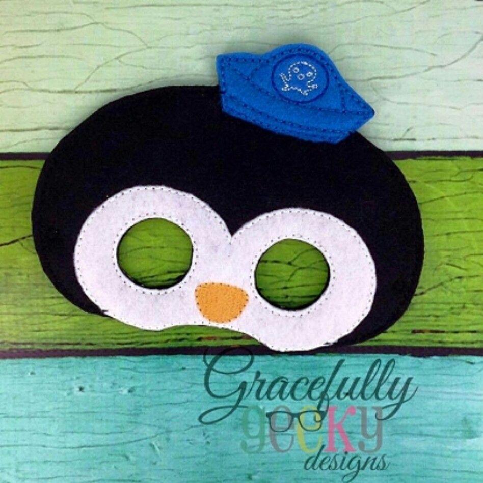 Octonauts Peso penguin | Alan | Embroidery designs, Kids