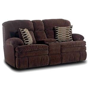 Homestretch 103 Chocolate Series Console Loveseat Furniture New