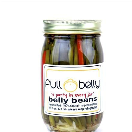 """Full Belly Artisian Pickles offers unique """"belly beans."""" Try them here"""