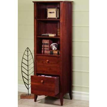 Nice Hawthorne Bookcase With Two File Drawers   Photo