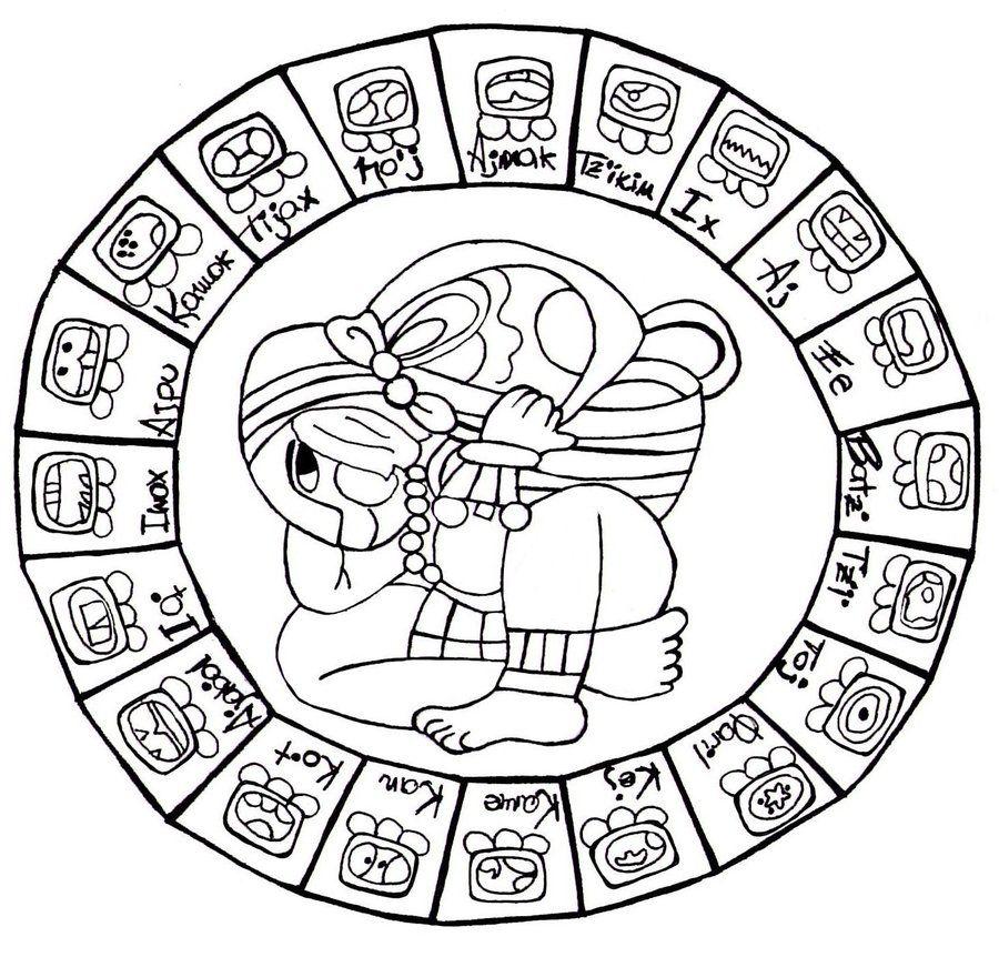 Il Calendario Maya.Calendario Maya Cerca Amb Google K5 Mayan Symbols