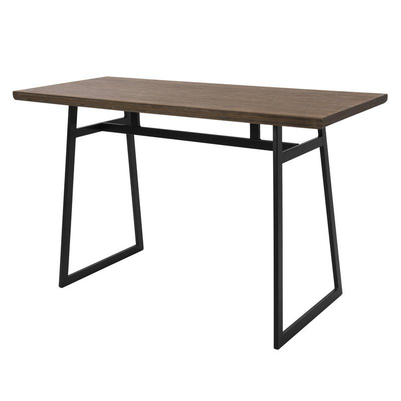 industrial counter height table. Platane Industrial Counter Height Dining Table I