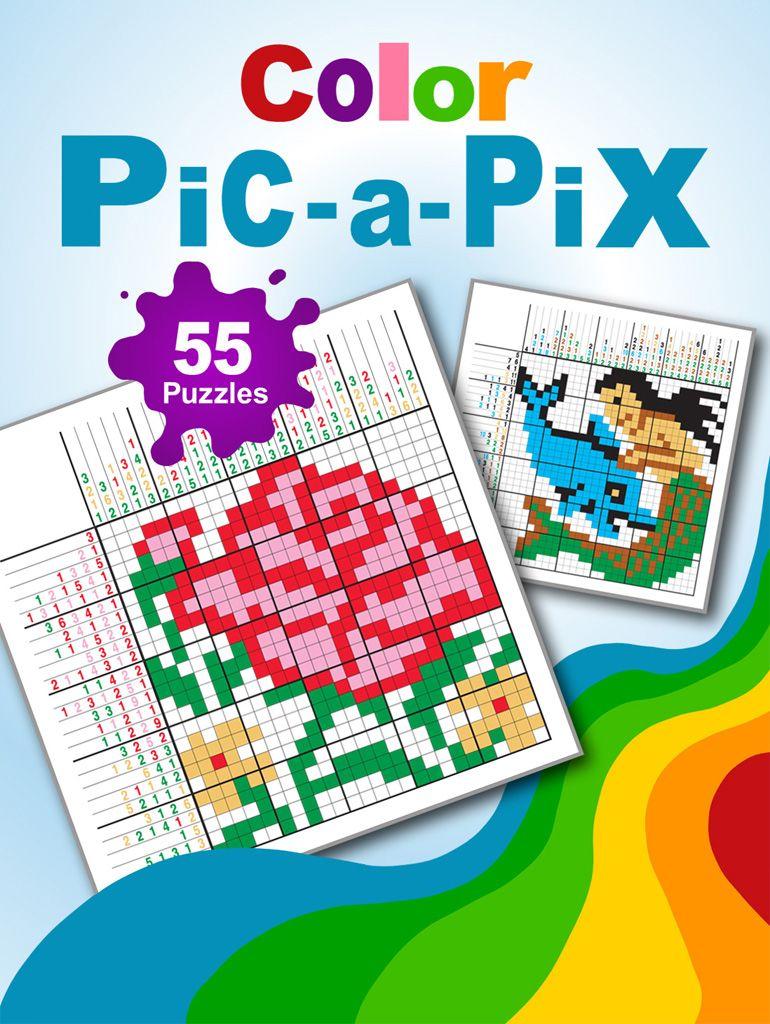 Color Pic A Pix 40 Page Downloadable Pdf Book Containing 55 Color