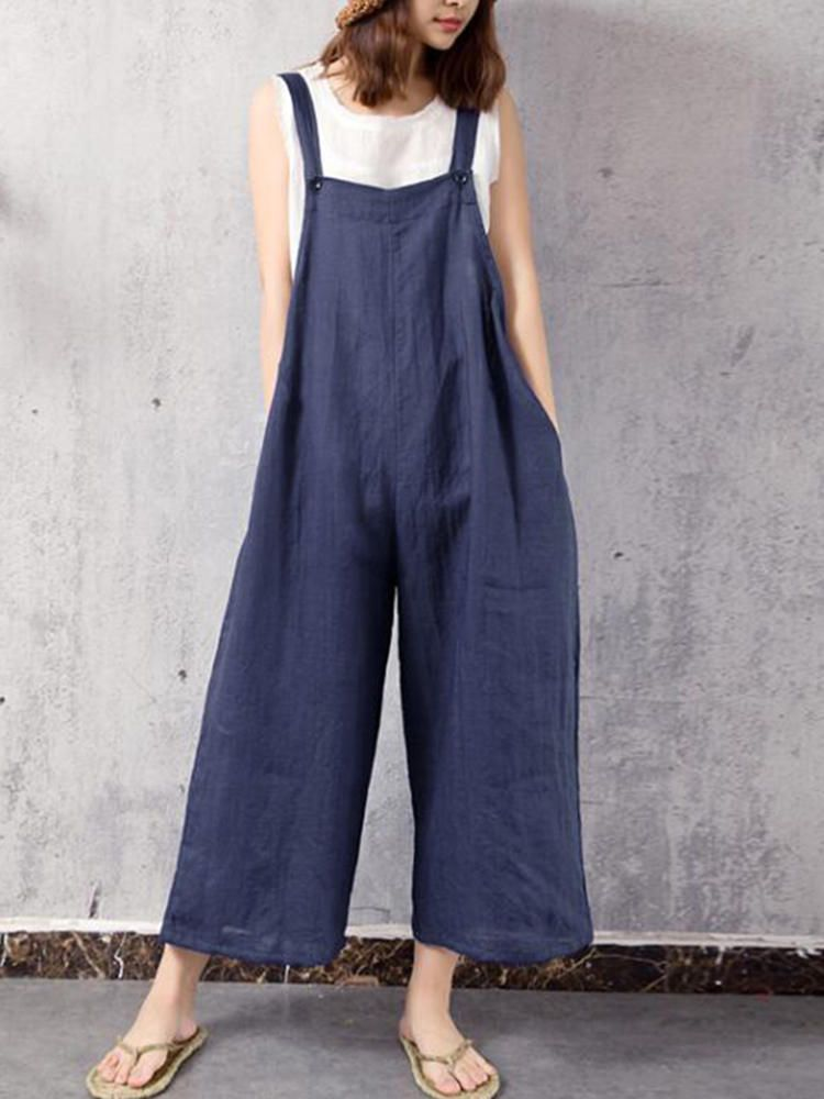 fd12657559be Only US 23.49 shop casual women wide leg jumpsuit at Banggood.com. Buy  fashion jumpsuits   playsuits online. - Banggood Mobile
