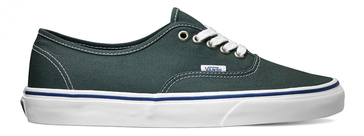 33ee783f43 Vans Authentic Green Gables True White
